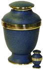 Traditional Blue Urn