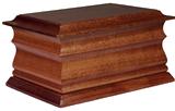 the mahogany casket