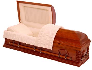 the manhatten casket