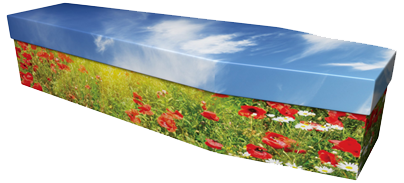 Casket with Image